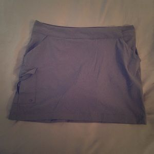 Columbia PFG active Navy blue skirt skort